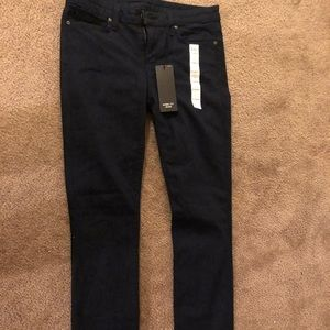 NWT navy blue Uniqlo skinny fit jeans